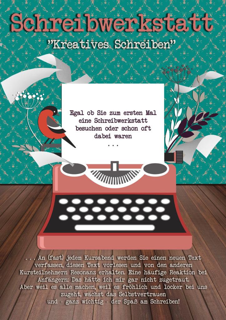 Schreibwerkstatt Kreatives Schreiben